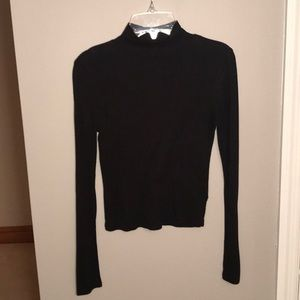 Long Sleeve Tight Black Shirt